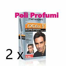 2 x L Oreal men expert excell 5 gel N 3 bruno naturale tinta uomo