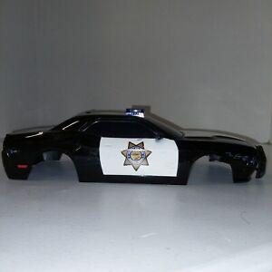 "RC Body Florida Highway Patrol 012 Police Dodge Cop Car 11.5 x 4.75"""
