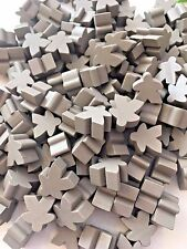 Wooden Meeples / Carcassonne Spares - Pack of 8 avail in 14 colours - UK SELLER!