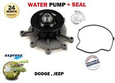 FOR JEEP 53022189AG 53020873AB 53022189AB 53021187AA K53021187AA WATER PUMP