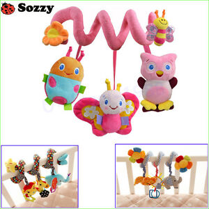 Sozzy Musical Stars Multifunctional Hanging Bed Bell Baby Educational Toys