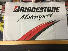 BRIDGESTONE MOTORSPORT SMALL FLAG FROM YEARS AGO