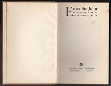 Enter Sir John - Clemence Dane, Helen Simpson - 1st/1st Hodder 1928, Scarce