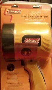 Coleman Powermate 12 Volt One Million Candlepower Halogen Spotlight PML8000Y