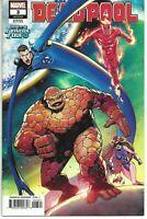 Deadpool #3 Liefeld Return of The Fantastic Four Variant Cover (Marvel 2018)