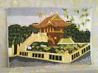 Vintage Hand Embroidered Wall Picture from USSR
