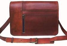 Men's Leather Messenger Bag Shoulder Business Briefcase Laptop Handmade Bag