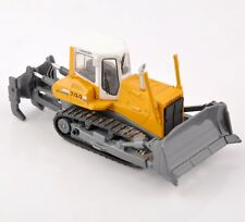 1/87 Yellow LIEBHERR PR 744 Crawler Alloy Diecast Engineering Vehicle Toy