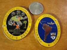 United States Navy Southern Command SOUTHCOM CPO Chiefs Mess Challenge Coin