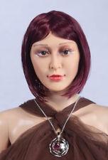Perruque Weiblich (Féminin) pour Mannequin de Vitrine Lisse Roux D3 Femme, Neuf