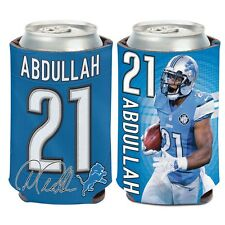 Detroit Lions Wincraft #21 Ameer Abdullah 12oz Can Coolie Free Ship