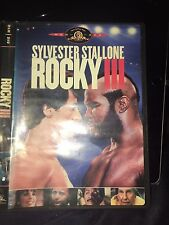 Rocky III --- DVD 2005  --- Sylvester Stallone, Mr. T. And Hulk Hogan Wwe WWF !!