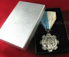 MARIAN AWARD MINT in BOX Catholic Girl Scout Medal Religious 1950s Original PIN