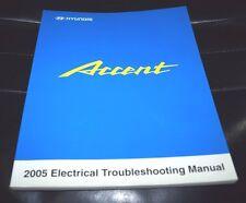 2005 HYUNDAI ACCENT ELECTRICAL SERVICE WORKSHOP SHOP REPAIR MANUAL OEM BOOK