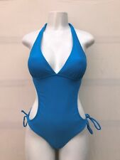 BLUE ONE PIECE SWIMSUIT /  BIKINI, BEACHWEAR, SWIMWEAR