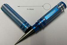 RC Coche Carrocería Escariador Agujero 0-14mm 1/28 1/16 1/12 1/10 1/8 1/5 Azul