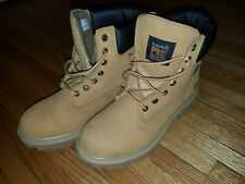"""Timberland Pro Direct Attach 6"""" Steel Toe Work Boot Safety Size 9 M Style 65016"""