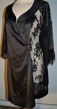 PLEASURE State Kimono Nero ROBE / Vestaglia 75-1167 MEDIUM RRP £ 329