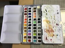 Mijello Mission Gold 45 Half-Pan Watercolour Set In Metal Tin