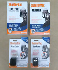 Skeeter Vac Bait Block and Tac Trap Package (2 Bait Blocks, 2 Tac Trap Boxes)