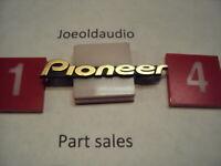 Pioneer CS-G305-K Original Grill Logo. Tested.