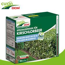 Cuxin DCM 3 kg Spezialdünger für Kirschlorbeer Wachstum Nährstoffe Sichtschutz
