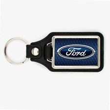 FORD KEYCHAIN  MUSTANG ESCAPE F150 BLUE OVAL KEY CHAIN
