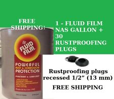 Fluid Film Nas Gallon + (30) Rust Proofing Plugs, Only $43.89 Free Shipping