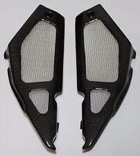 Aprilia Tuono 1000R 2002-2005 Side Panels - Plain Weave Carbon Fiber