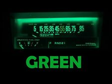 84 87 Buick Regal Gauge Cluster LED Dashboard Bulbs Green