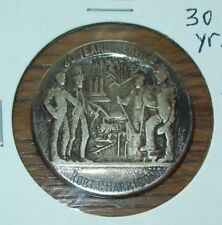 US Steel Corp 30-Years Service Award Sterling Silver 21 Grams Railroad Train