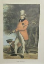 "W.A.COX ""JOHN TAYLOR"" AFTER SIR HENRY REABURN COLORED ENGRAVING"