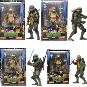"Teenage Mutant Ninja Turtles 1990 Action Figure 7"" PVC Collectable Toy Gift"