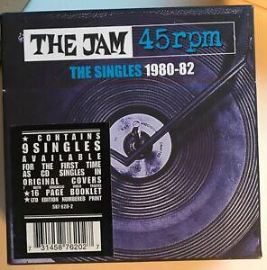 The Jam - The Singles 1980-82 box set