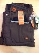 hyena snowdon trousers brown/black w30 l32