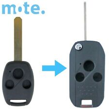 Honda Accord/CRV/Civic/Integra/Legend 3 Button Flip Key Remote Case/Shell