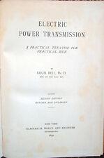 1899 – BELL, ELECTRIC POWER TRANSMISSION – FISICA ENERGIA ELETTRICA INGEGNERIA