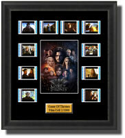Game Of Thrones All Seasons Framed 35mm Film Cell Memorabilia Filmcells