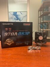 Gigabyte GA-970A-DS3P, AM3+, AMD Motherboard with AMD FX4300 and CM Hyper 212