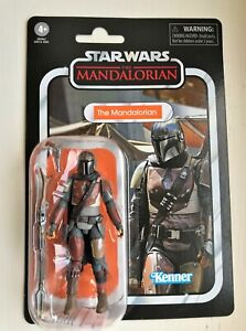 """Star Wars Vintage Collection The Mandalorian 3.75"""" Action Figure HTF New Sealed"""