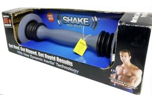 5 lb SHAKE WEIGHT Mens Womens Arm Firming Muscle Toning Fitness Exercise DVD NEW