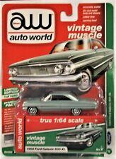 2016 Auto World 5B Premium Release 1966 Oldsmobile 442 Silver Combine Shipping