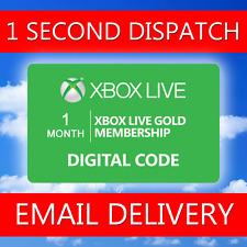 1 MESE-Microsoft XBOX 360/Uno Xbox LIVE Gold adesione [LEGGERE DESCRIZIONE]