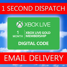 XBOX Live 1 MESE Gold Membership Microsoft Codice - 5 minuti spedizione