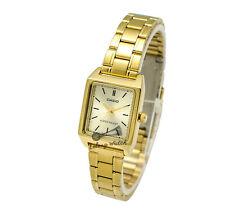 -Casio LTPV007G-9E Ladies' Metal Fashion Watch Brand New & 100% Authentic