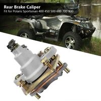 New Rear Brake Caliper Fit For Polaris Sportsman 400 450 500 600 700 800 W/ Pads