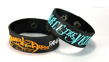 PANIC! AT THE DISCO PIERCE THE VEIL DIPV NEW! 2pcs(2x) Bracelet Wristband