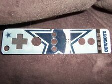 Nintendo Wii - Controller / Remote Holog. Cover - NFL Logo Skin - DALLAS COWBOYS