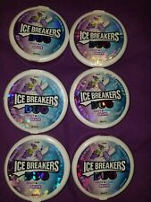 Icebreakers Duo Grape fruit flavored,  set of 6, new.