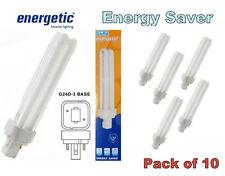 10 X Baja Energía Ahorro energético 26 W G24d-3 2P 4200k Lámparas Bombillas 2 Pin PLC